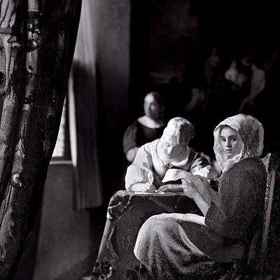 Three Women, from the series: After Vermeer Photo: Paul Kilsby #vermeer #paulkilsby #nickyakehurst #photography