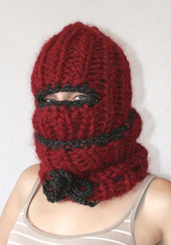 Etsy listing at https://www.etsy.com/uk/listing/453113300/thick-turtleneck-balaclava if I had one like this I wouldn't want to take it off, maybe a locking collar would help, just a thought.