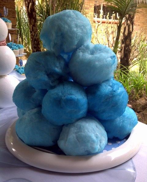 Blue Candyfloss Snowballs