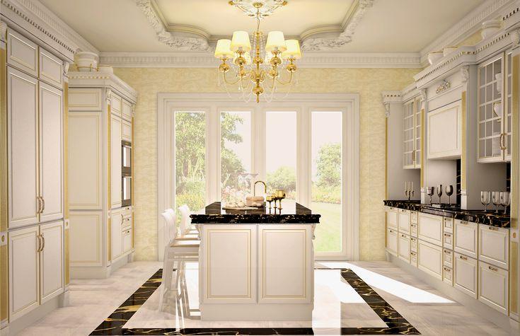 Scavolini baltimora timeless kitchen design cucine for Kitchen design 8 x 6