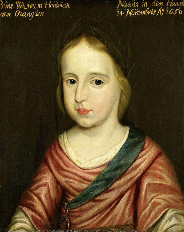 Portret van Willem III (1650-1702), prins van Oranje, atelier van Gerard van…