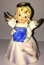 Vintage Lefton September Birthday Month Angel
