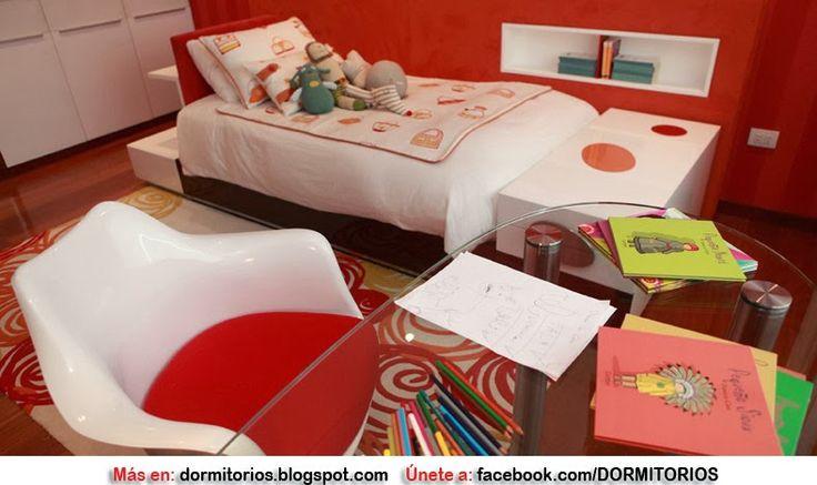 Dormitorios: Fotos de dormitorios Imágenes de habitaciones y recámaras, Diseño y Decoración: DORMITORIOS ROJOS