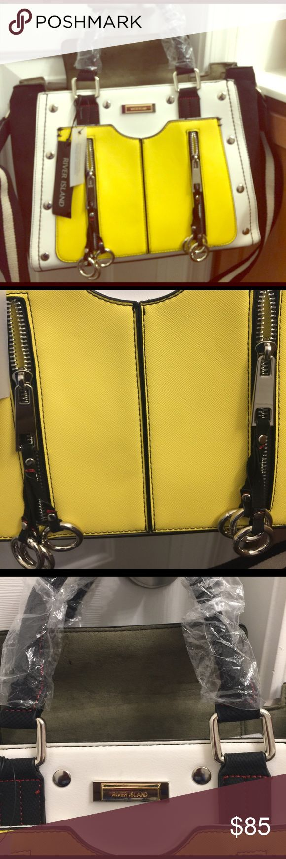 River island tote Beautiful, colorful tote from river island. River Island Bags Totes