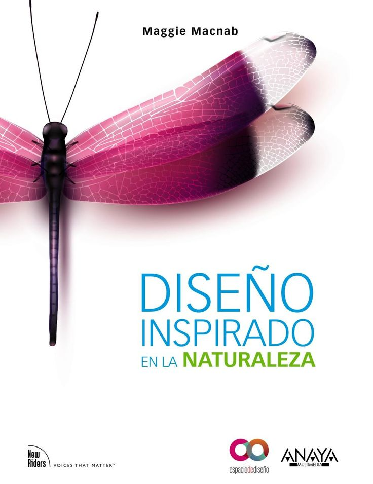 Diseño inspirado en la naturaleza. Sign. T 7.05 MAC. http://encore.fama.us.es/iii/encore/record/C__Rb2439542?lang=spi