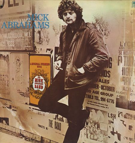 Mick Abrahams - first guitarist of Jethro Tull. Went on to form Blodwyn Pig.