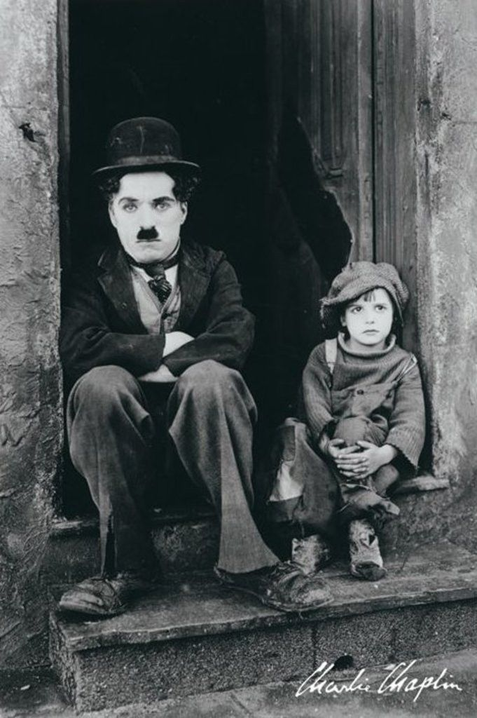 Charlie Chaplin - The Kid - Official Poster. Official Merchandise. Size: 61cm x 91.5cm. FREE SHIPPING