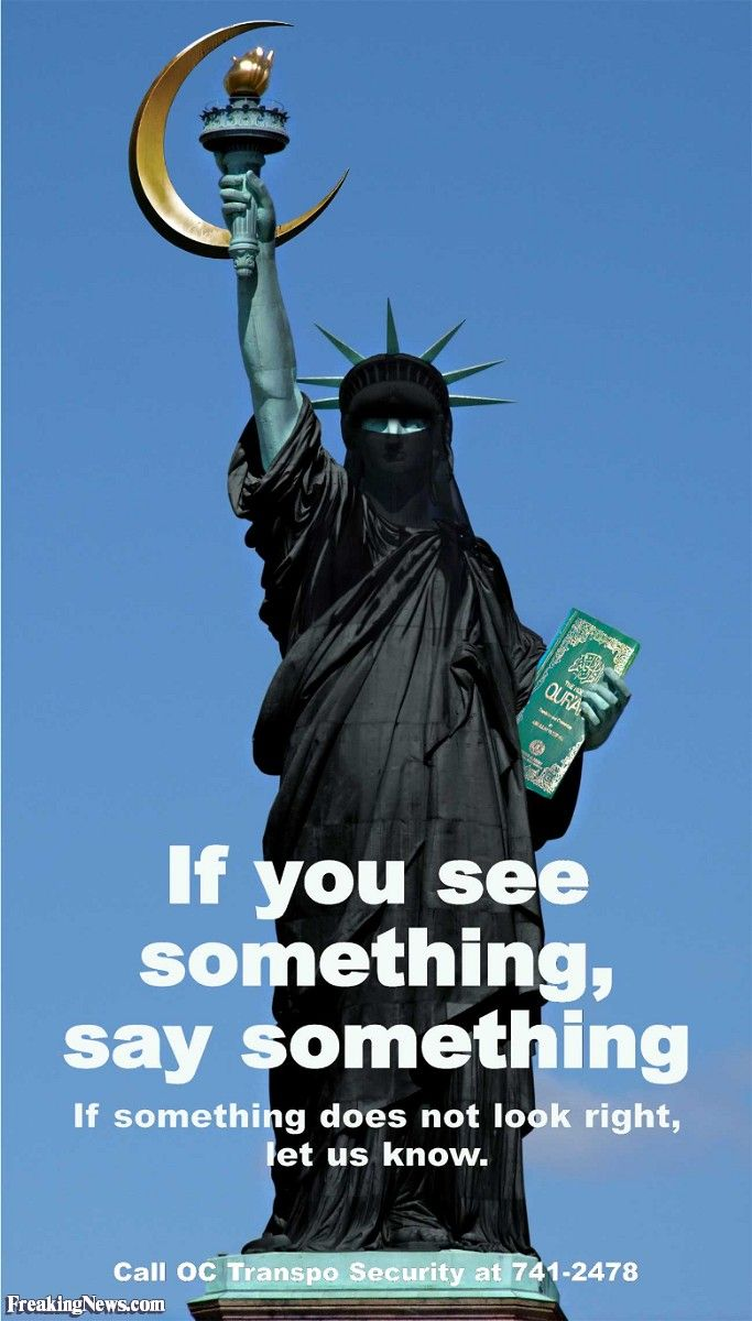 Statue Of Liberty Quote Statue Of Liberty Wearin A Burka  The Sword Of Islam  Pinterest
