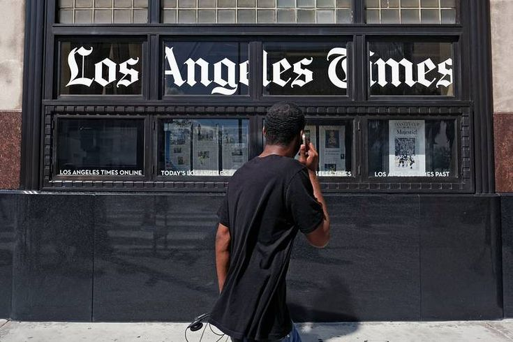 Tribune Publishing owns the Los Angeles Times and other newspapers.