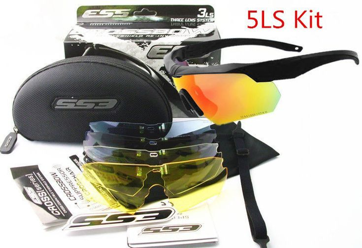 Army Glasses Tactical Sunglasses 3-5 Lenses Polarized & None-Polarized Goggles #ArmyGlasses
