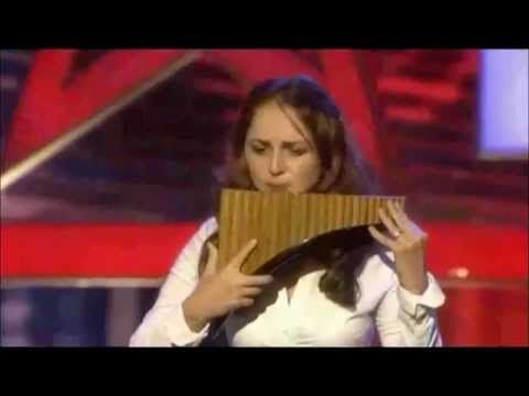 Romanian at Germany's got talent. Very beautiful pan flute music - Petruta Küpper Einsamer Hirte