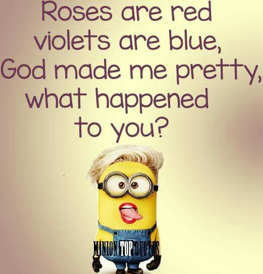 MiNiON - too funny! Loved this!!!