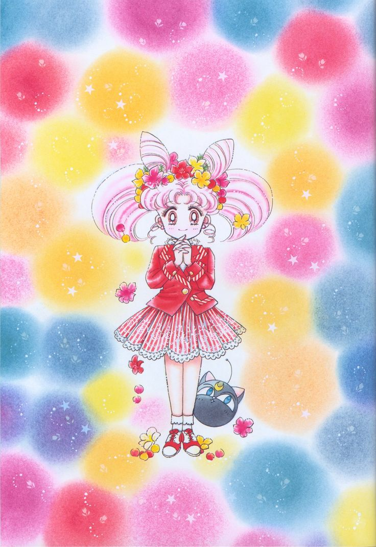 Tags: Bishoujo Senshi Sailor Moon, Takeuchi Naoko, Chibiusa, Scan, Luna P