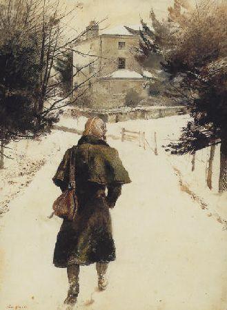 Andrew Wyeth - N'écartez pas la brume