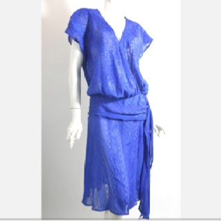 So pretty! Vintage 80's Dress for sale on yesterday's Fab.