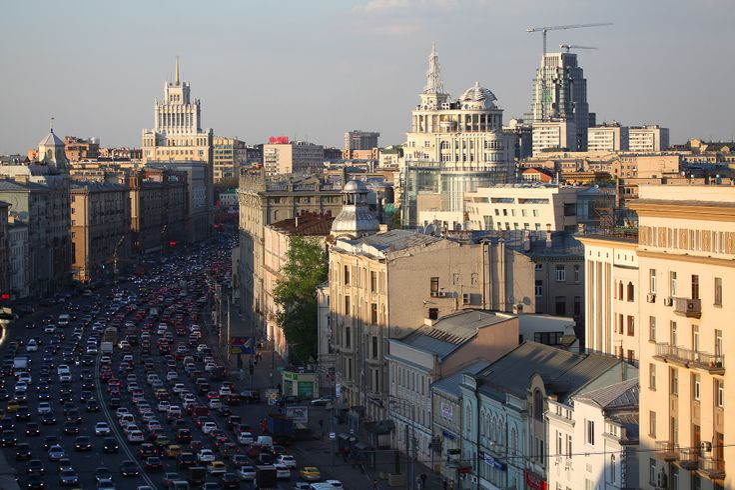 Час пик -  Садовое кольцо, #Moscow