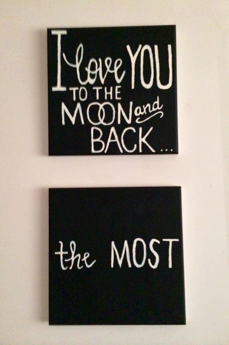 Home Made Art for the boys' room :)