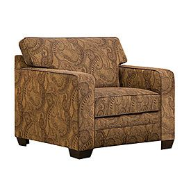 Simmons Aspen Tobacco Accent Chair At Big Lots Club