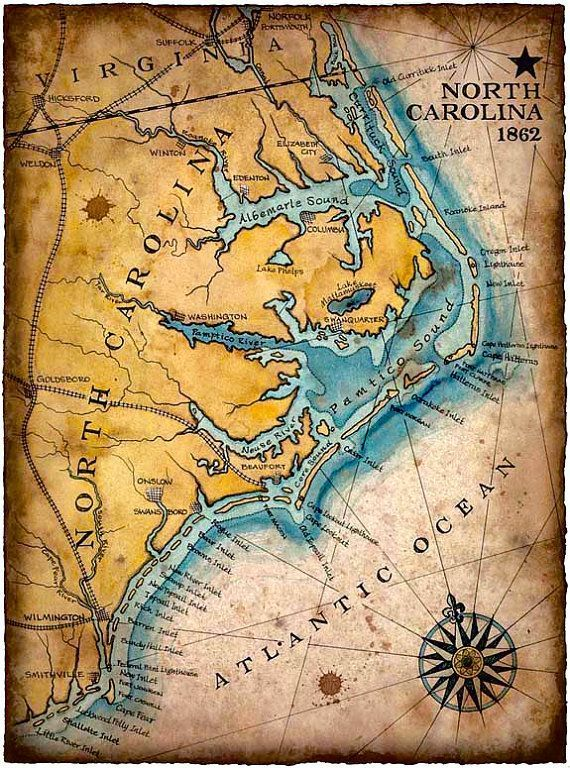 41 best images about north carolina maps for genealogists for Tattoo artists in wilmington nc