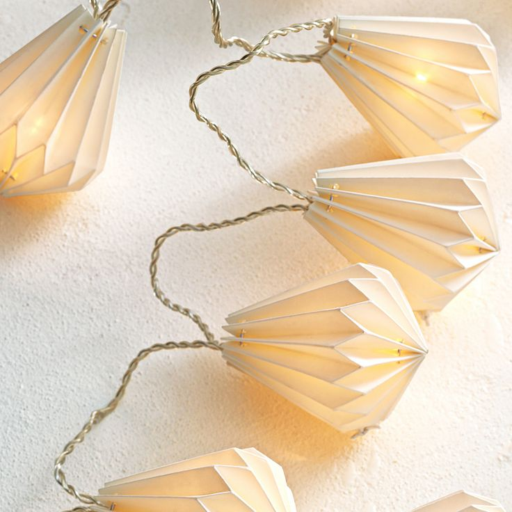 Inspiration - Paper String Lights – Jewel by Serena & Lily.