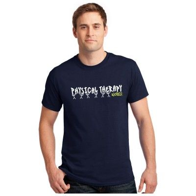 """Take pride in your profession with this Unisex """"Physical Therapy Works!"""" Tee!"""