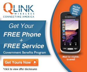 FREE cell phone & FREE service if you rec'v gov't benefits and live in TX, MI, CO, WI, WV, MD, MO and NV - Coupon Cousins