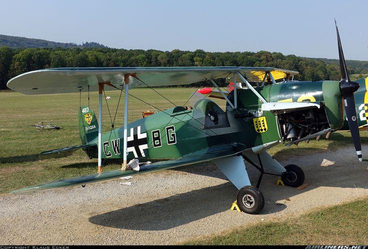 Bucker Bu-131 Jungmann - | Aviation Photo #3984787 | Airliners.net