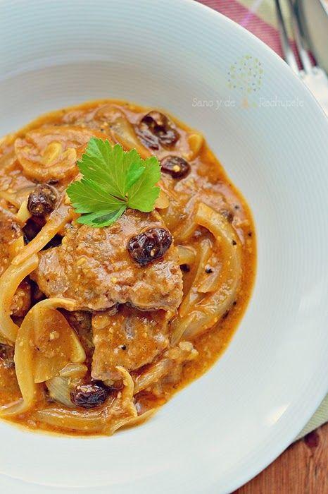 ¡Sano y de rechupete!: Ternera en salsa de almendras