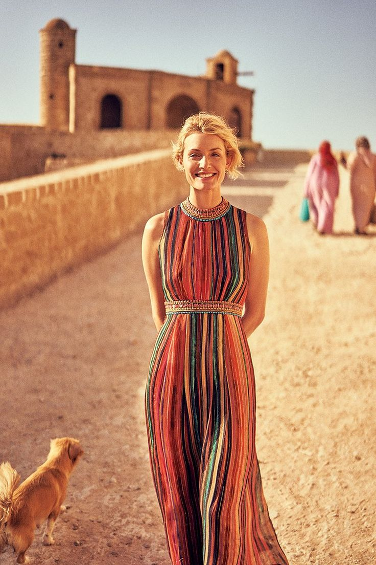 On the Road with Amber Valletta | Anthropologie Blog