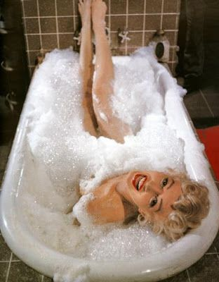 Marilyn Monroe had it spot on...A bubble bath will make you smile ;)