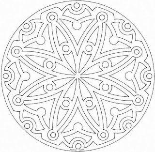 Regininha - Atividades Escolares: Mandalas para pintar