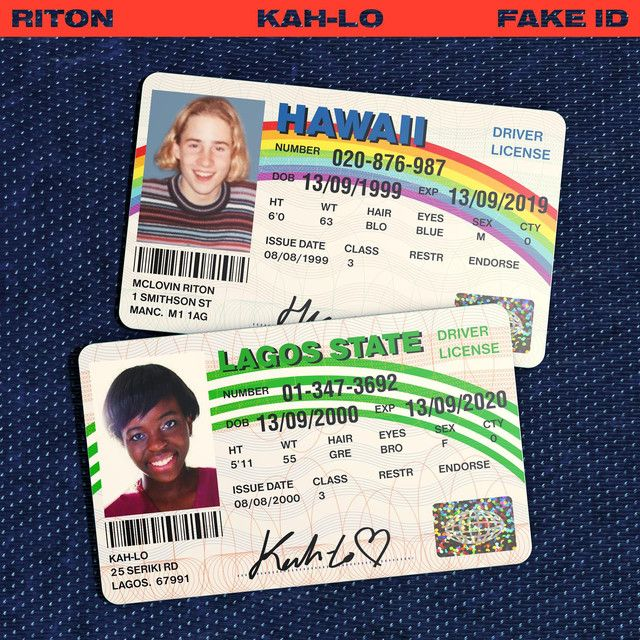 Fake Id A Song By Riton Kah Lo On Spotify Album Covers Album Cover Art Song Playlist