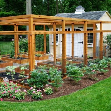Flower Gardens, Vegetable Gardens, And Landscaping