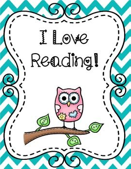Free Owl Themed Reading Poster. Decorate your classroom with owls!
