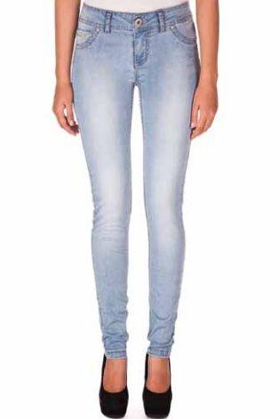 Light Wash Skinny Jean