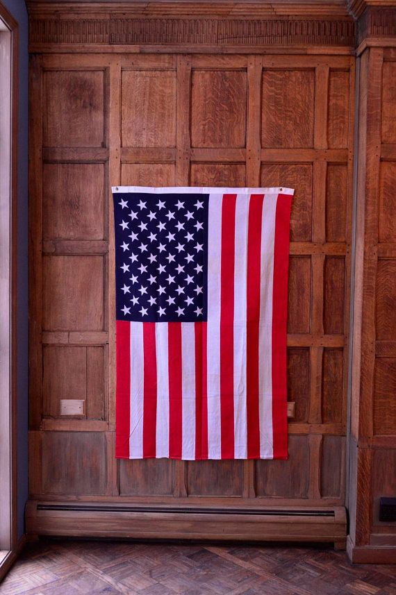 Vintage American Flag Wall Art large framed american flag. . american flag wall decor wood wall