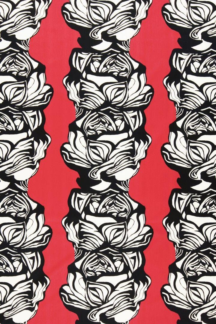 Villiruusu design Irina Ylänne / Eurokangas