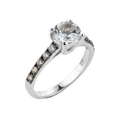 Anillo Dama 10 Kt #Oro Blanco con #Diamante #luxurybrands #classy #wedding #wealthy #luxurylife #fashion #luxury #luxurylifestyle #like #lifestyle #mydubai #dubai #diamonds #jewelry #joyas #anillos #bodas #alianzas #joyeria