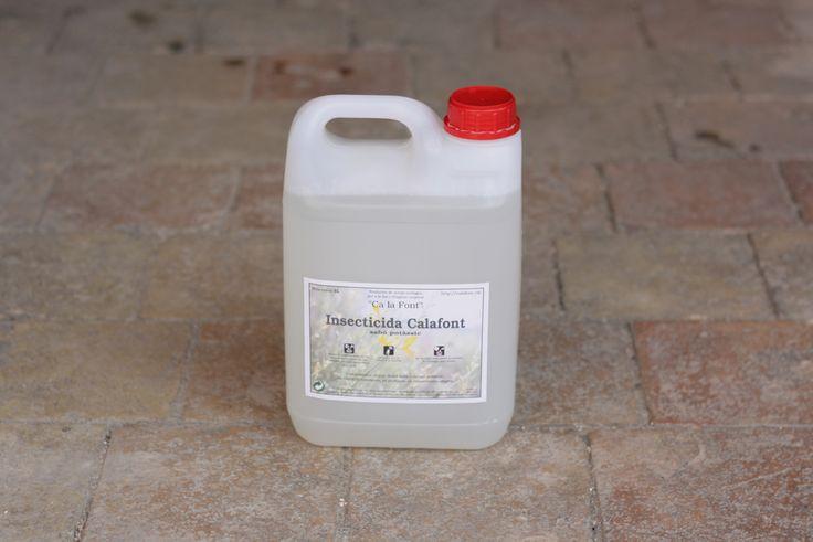 Si tienes un huerto o plantas y quieres un insecticida natural, requiero diluirlo con agua destilada. Hecho con jabón potásico es totalmente biodegradable. 5L de insecticida concentrado. 18,00€ ¿Lo compras? http://goo.gl/U2gVgC