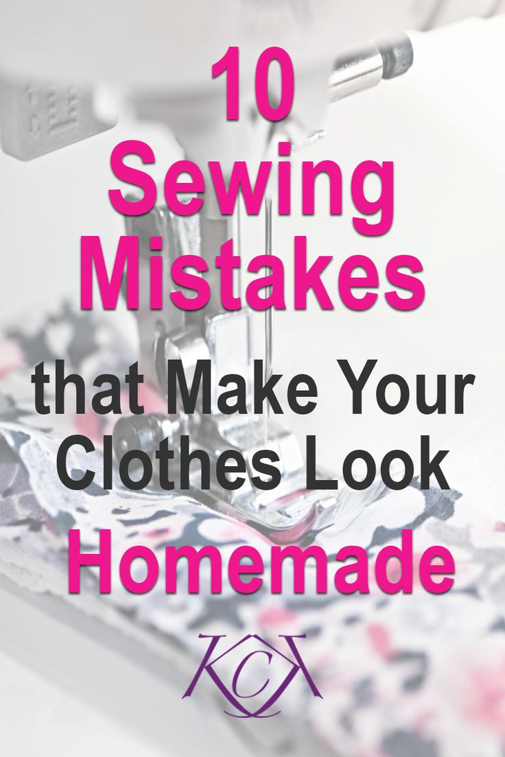 This blog post gives you 10 common sewing mistakes that make your garment look…