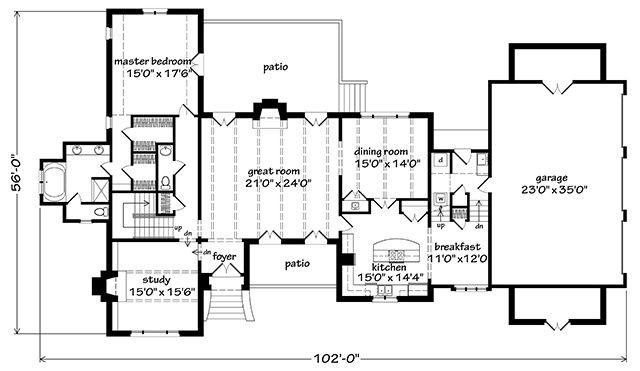Napolean Mckay Zorn Associates P A Southern Living House Plans House Plans Best House Plans Southern Living House Plans
