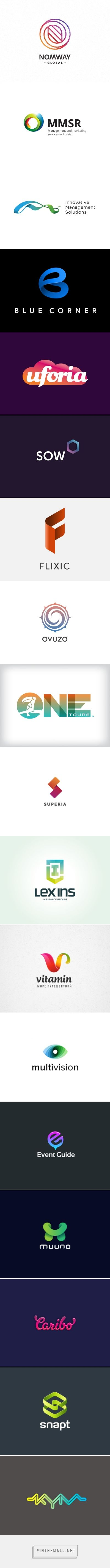 Logo Design: Gradients | Abduzeedo Design Inspiration - created via http://pinthemall.net