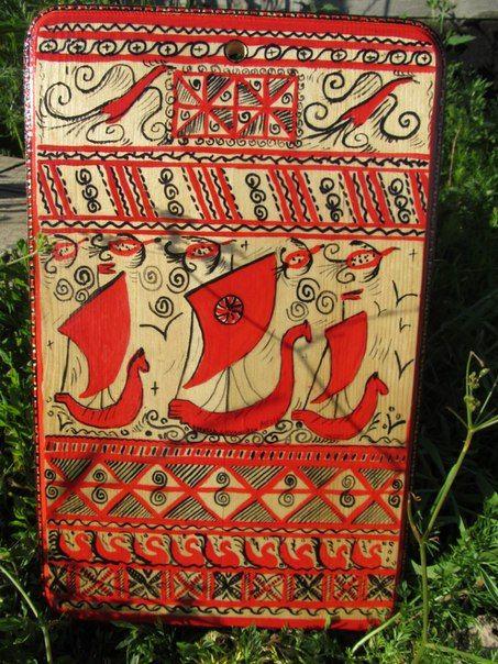 Мезенская роспись региональный семинар | 166 фотографий