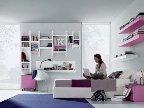 Pink Room Design   12 Cool And Modern Teen Room Ideas