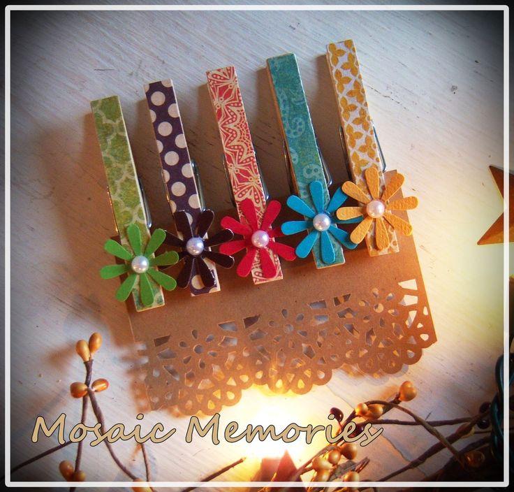 Shoregirl's Creations: Decorative Clothes Pins