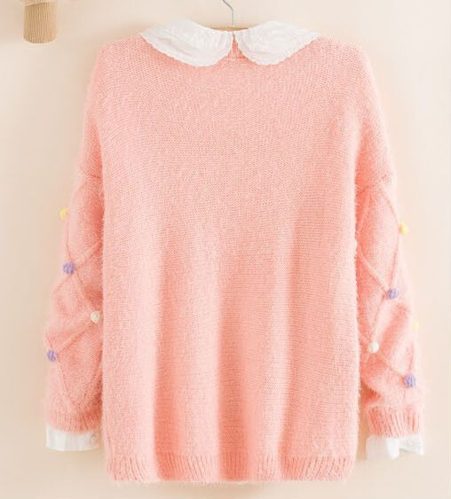 Fashion kawaii sweater @holopastel