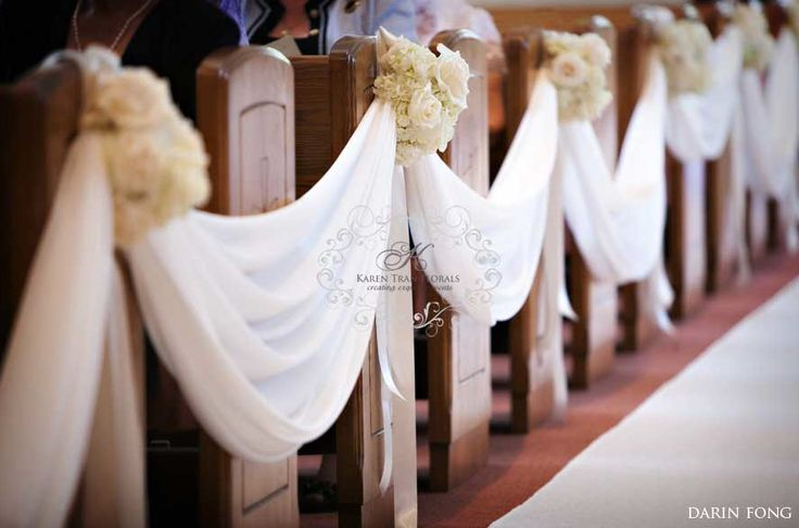 To the Bride and Groom: Church Decor Inspirations & what we can do ...