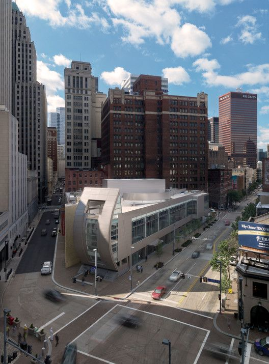 August Wilson Center for African American Culture,© Steinkamp Photography