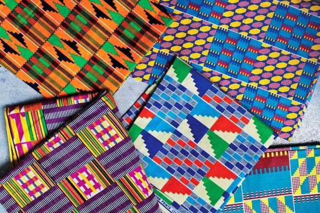 Behind Ghana's colourful Kente cloth