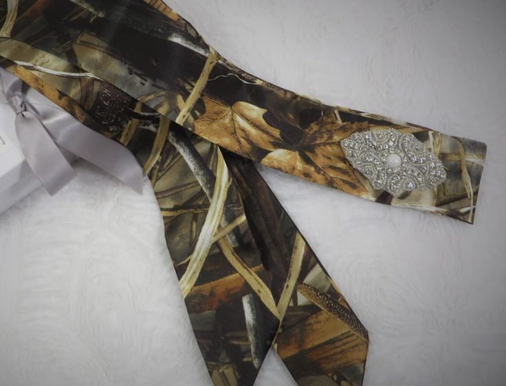 Realtree Max 4 Camouflage Dress Sash for wedding or prom *AVAILABLE IN MANY CAMO PATTERNS* by- TheMomentWeddingBoutique